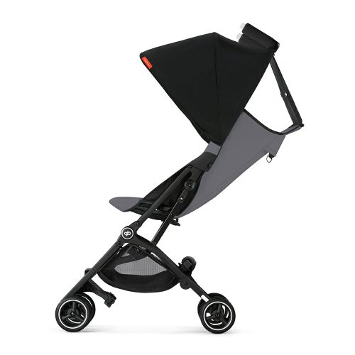 Gb Pockit+ Stroller – Silver Fox Grey Full Recline