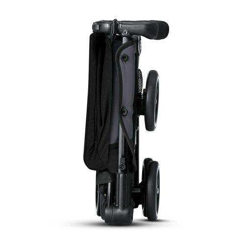 Gb Pockit+ Stroller – Silver Fox Grey Side Folded