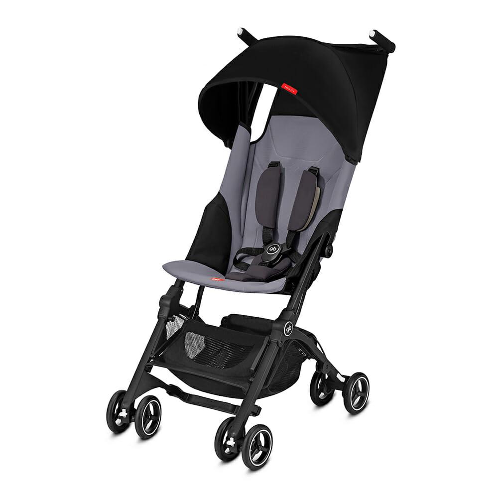 Gb Pockit+ Stroller – Silver Fox Grey