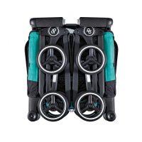 GB Pockit Compact Stroller Capri Blue Folded