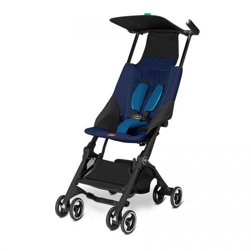 GB Pockit Compact Stroller Sea Port Blue