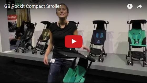 GB Pockit Compact Stroller Video