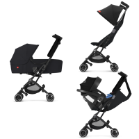 Gb Pockit + All Terrain Velvet Black 3in1 Travel System 8610 8605 8593 E6gxwc