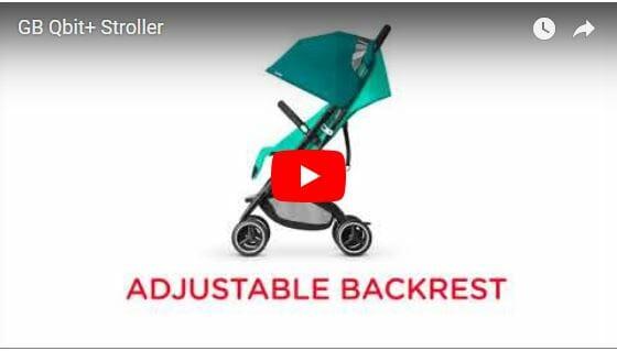 GB Qbit+ Stroller Video