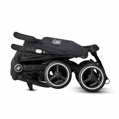 Goodbaby Qbit+ Stroller Folded Silver Fox Grey