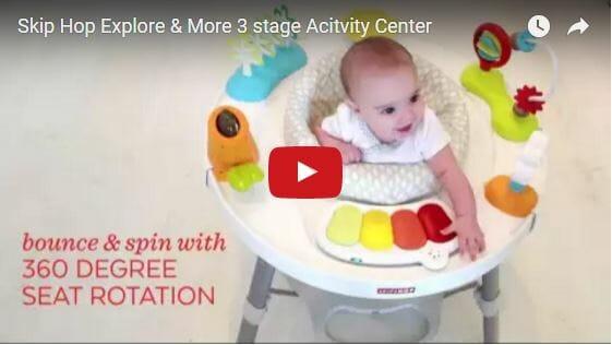Skip Hop Explore & More 3 Stage Activity Center Video