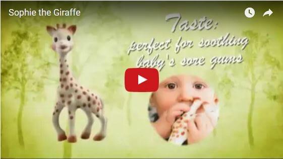 Sophie The Giraffe Video