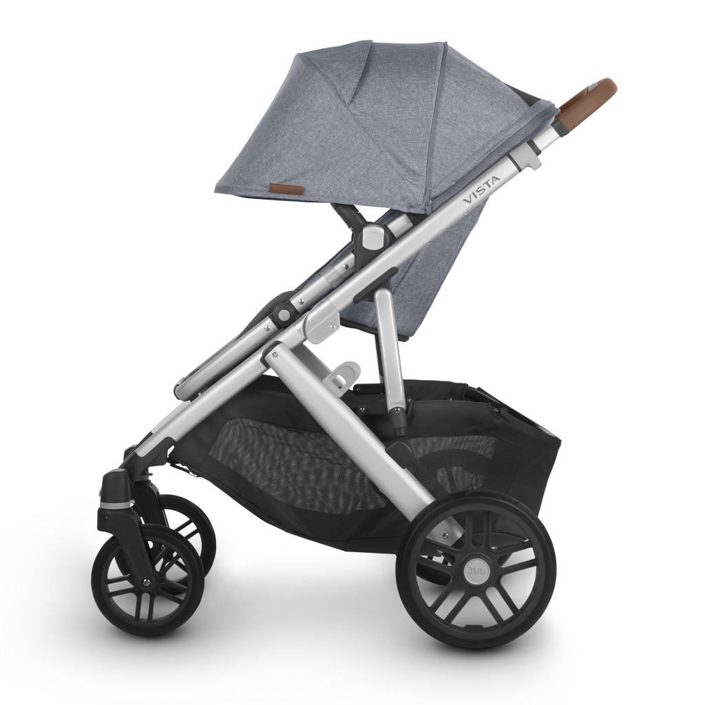 Uppababy Vista V2 Gregory Side Sun