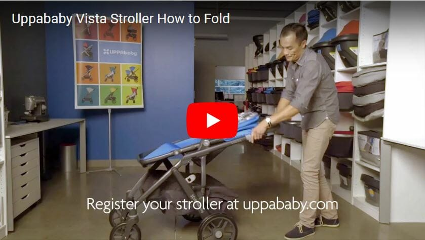 Uppababy Vista Stroller How To Fold