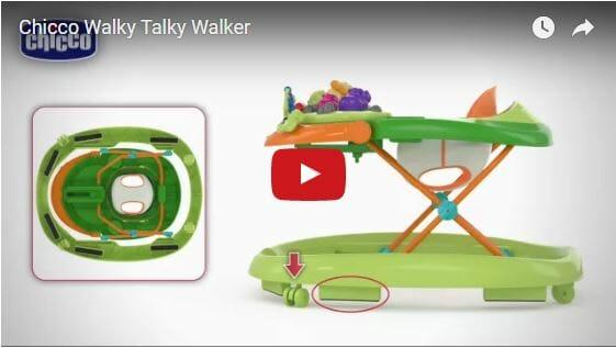 Chicco Walky Talky Walker