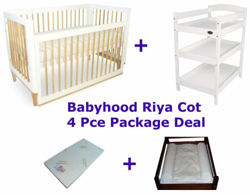 Babyhood Riya Cot Package Deal 4 Pce