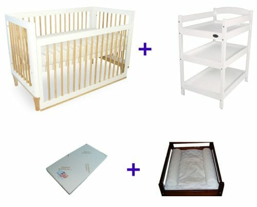 Babyhood Riya Cot Package Deal 4 Pce No Text