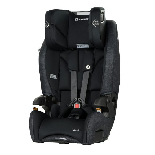 Maxi Cosi Luna Pro Nomad Black Head Rest Up Angle