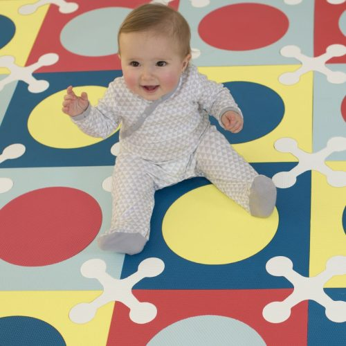 Skip Hop Playspot Mat Multi Mix