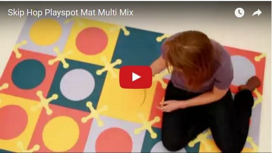 Skip Hop Playspot Mat Multi Mix Video Video