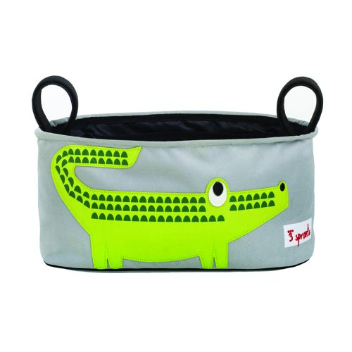 3 Sprouts Stroller Organiser crocodile