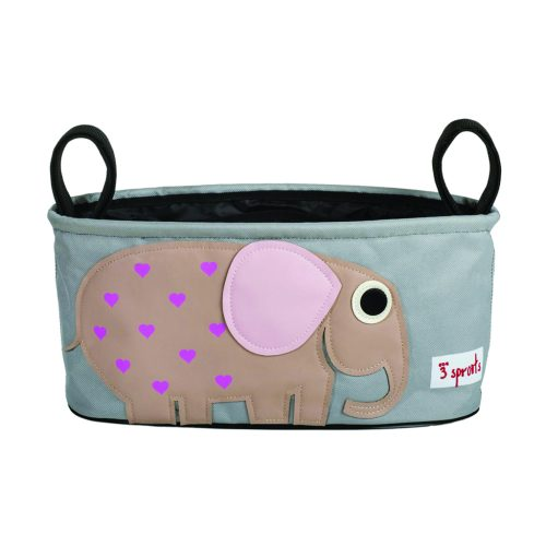 3 Sprouts Stroller Organiser elephant