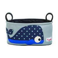3 Sprouts Stroller Organiser whale
