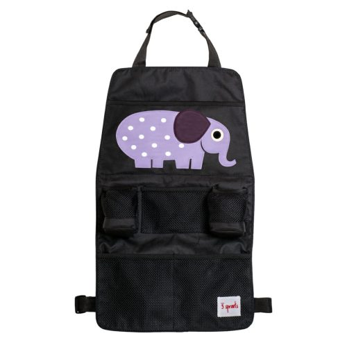 3 Sprouts Backseat Organiser elephant