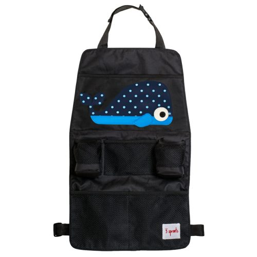 3 Sprouts Backseat Organiser whale