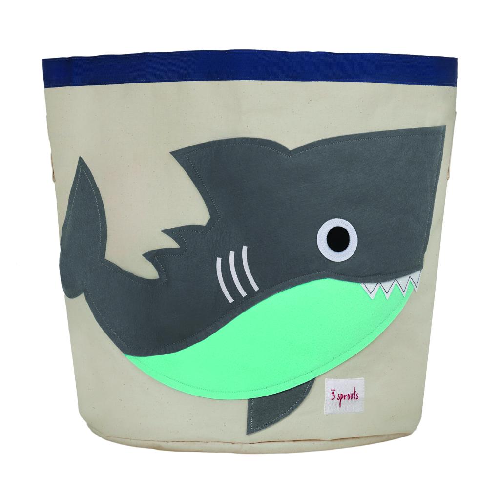 3 Sprouts Storage Bin shark