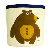 3 Sprouts Storage Bin toffee bear