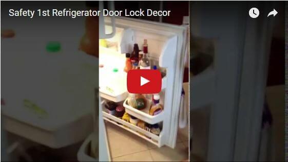 Safety 1st Refrigerator Door Lock Decor