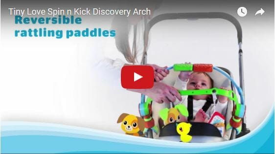 tiny-love-spin-n-kick-discovery-stroller-arch-video
