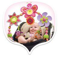 Tiny Love Tiny Princess Butterfly Stroller Arch Bubble