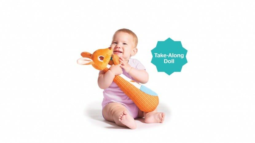 Tiny Love Kangy Kangaroo Changing Time Toy