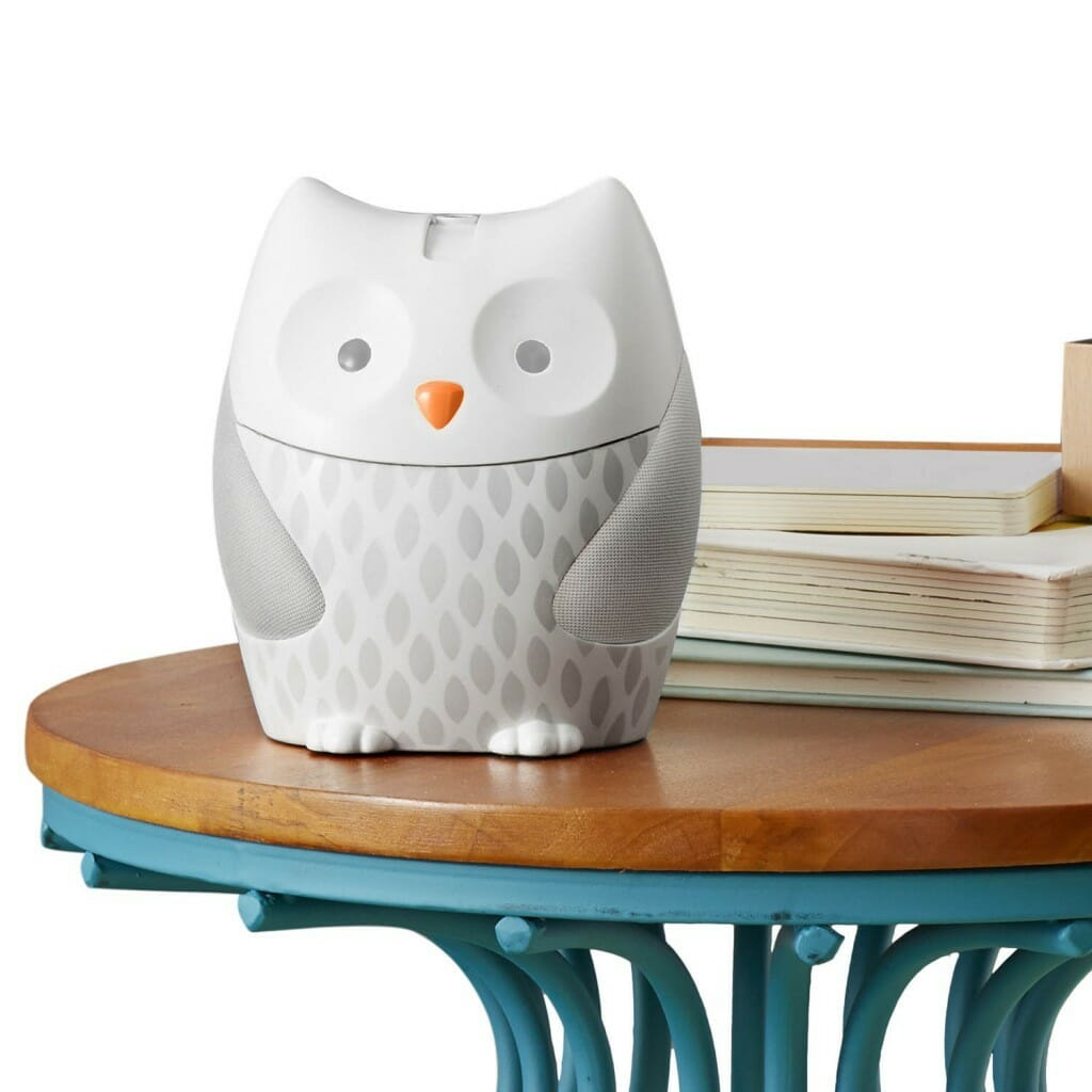 Skip Hop Moonlight & Melodies Nightlight Soother - Owl on Table