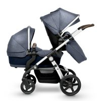 Silver Cross WAVE Midnight Seat and Carry cot