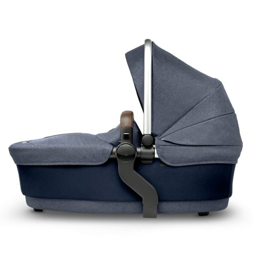 Silver Cross WAVE Midnight carry cot side view