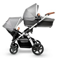 Silver Cross WAVE Sable carry cot and seat unit