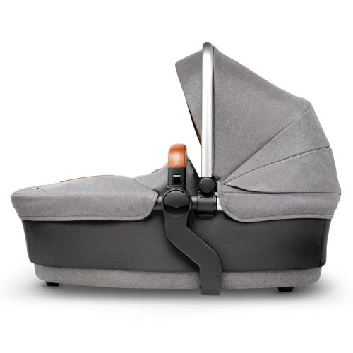 Silver Cross WAVE Sable carry cot side view