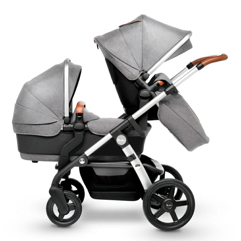 Silver Cross WAVE Sable seat and carry cot
