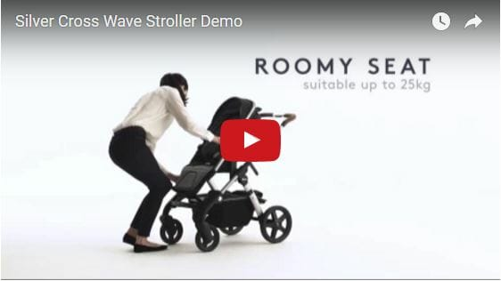 Silver Cross Wave Stroller Video Demo
