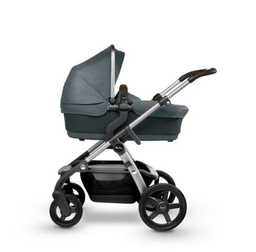 Silver Cross Wave V3 Slate With Bassinet