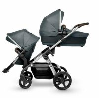 Silver Cross Wave V3 Slate With Bassinet And Seat 2