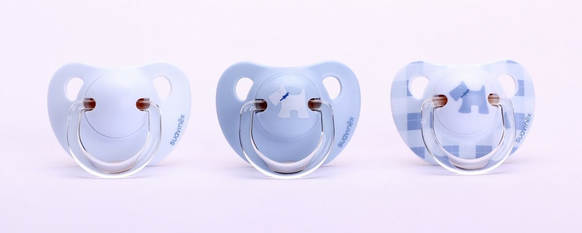 Suavinex Evolution Soother PP with Anatomical Silicone Teats blue 0-6