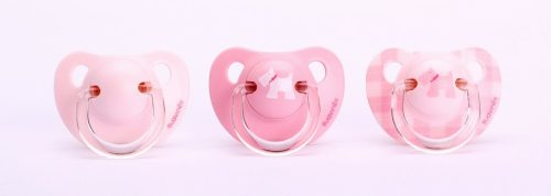 Suavinex Evolution Soother PP with Anatomical Silicone Teats pink 0-6