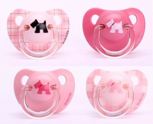 Suavinex Evolution Soother PP with Anatomical Silicone Teats pink +6