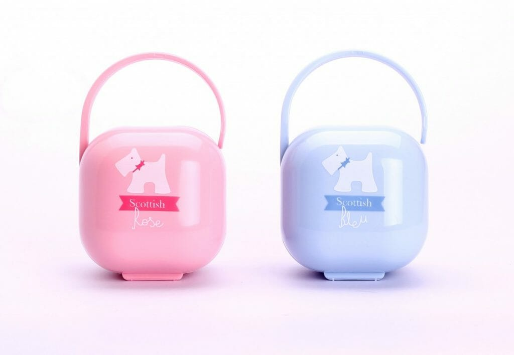 Suavinex Rose & Bleu holder pink-blue