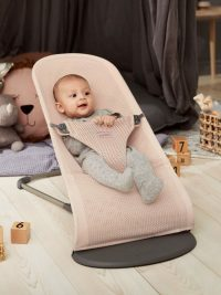 Babybjorn Bouncer Bliss Pearly Pink Mesh 001