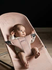Babybjorn Bouncer Bliss Pearly Pink Mesh 002