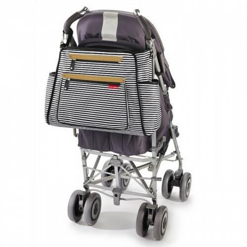 Skip Hop Grand Central Take It All Diaper Bag On Stroller