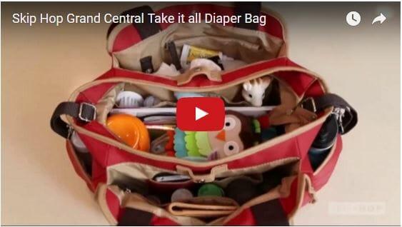 Skip Hop Grand Central Take-it-all Diaper Bag Video