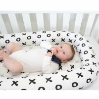 Babyhood Organic Cosy Crib Tic Tac Toe
