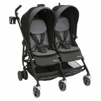 Maxi Cosi Dana For2 Nomad Black Angle Left