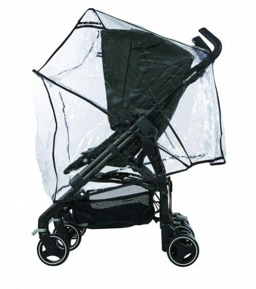 Maxi Cosi Dana For2 Nomad Black Raincover